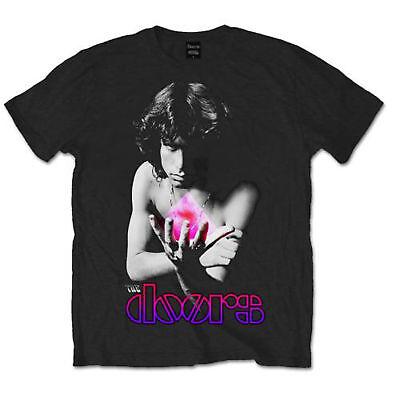 The Doors Waiting for the Sun Jim Morrison Wht Official Tee T-Shirt Mens Unisex