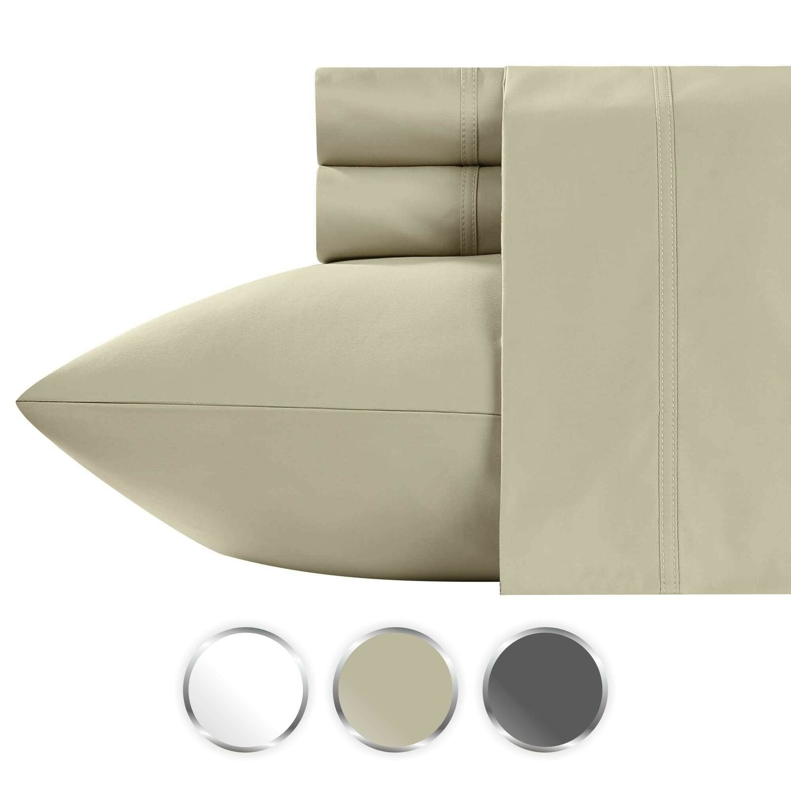 0468b5278662 1000 100% Pure Cotton Bed Sheets on Amazon, 4-Piece Highest Qual ...