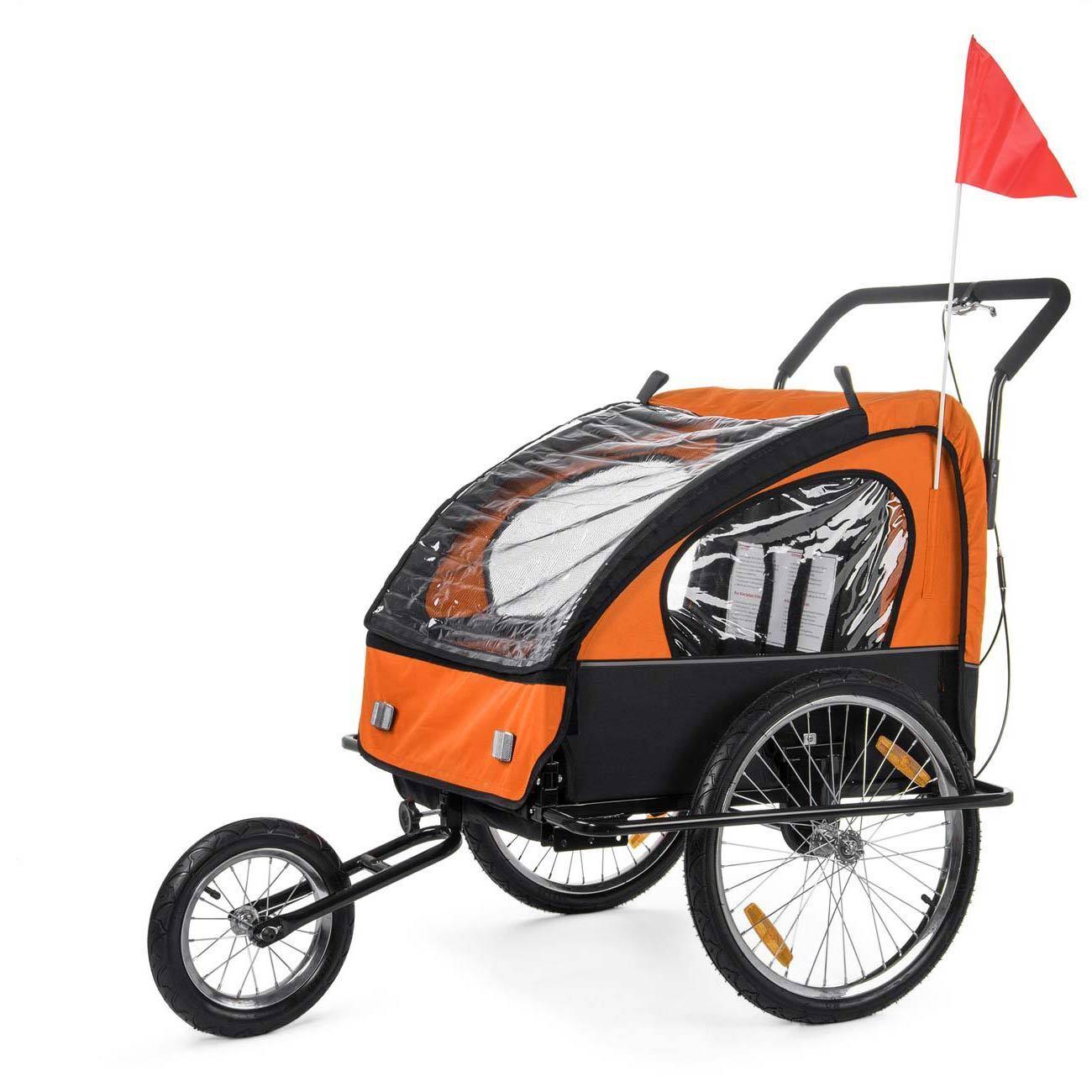 Remolque de Bicicleta para Niños Transportín Silla Silla Transportín Cochecito Carro Bici SAMAX bf9ace