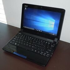 "Acer Aspire One 532h-2588 10.1"" Atom N450 1.66GHz 2GB 160GB Win 10 Netbook"