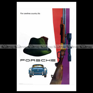 phpb-000631-Photo-PORSCHE-1961-FOR-CAREFREE-COUNTRY-LIFE-Advert-Reprint