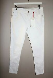 COTTON-ON-Brand-White-The-Skinny-Leg-Jeans-Size-14-BNWT-RE52