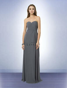 721485f8061 Image is loading Bill-Levkoff-Bridesmaid-Dress-776-Prom-Wedding-Chiffon-