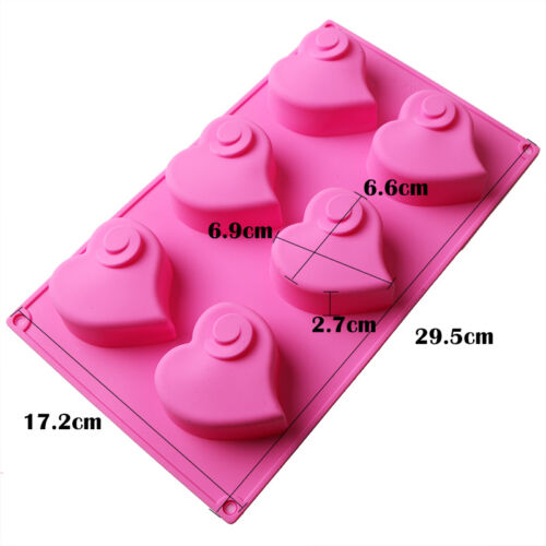 Silicone Cupcake Mold Muffin Chocolate Cake Candy Cookie Baking Mould Pan Tools