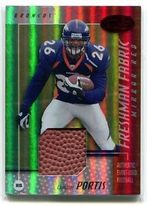 2002-LEAF-CERTIFIED-CLINTON-PORTIS-MIRROR-RED-BALL-RC-131-250
