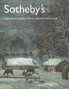 CATALOGO ASTA SOTHEBY'S LONDON OLYMPIA AUCTION RUSSIAN SALE ICONS ART 2006