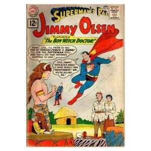 Superman-039-s-Pal-Jimmy-Olsen-1954-series-58-in-VG-condition-DC-comics-63
