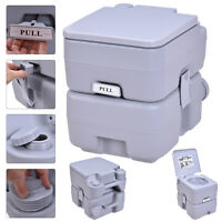 5 Gallon 20l Portable Toilet Flush Travel Camping Outdoor/indoor Potty Commode on sale