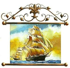 Painting-Oil-Picture-Frame-Sea-Ships-03276