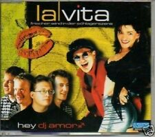 (118F) La Vita, Hey DJ Amor - CD