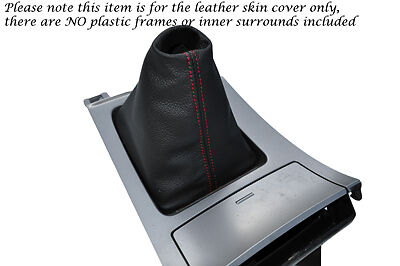 Red coutures fits mazda 3 2009-2013 CUIR GEAR GAITER seulement