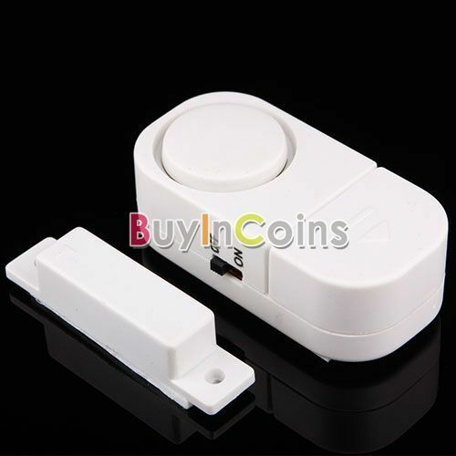 Wireless Window Door Magnetic Entry Security Alarm BA