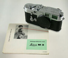 LEICA M 3 M3 body Gehäuse superclassic analog rangefinder 1954 early früh 706318
