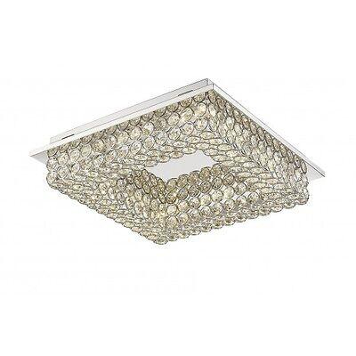 Kristall Deckenleuchte Eckig Led Deckenlampe Schlafzimmer Lampe Wohnzimmer