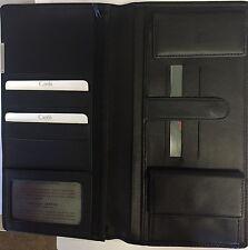 Kreditkarten-Ticket-Devisen-Etui für Reise aus LEDER Brieftasche 01-0672-30