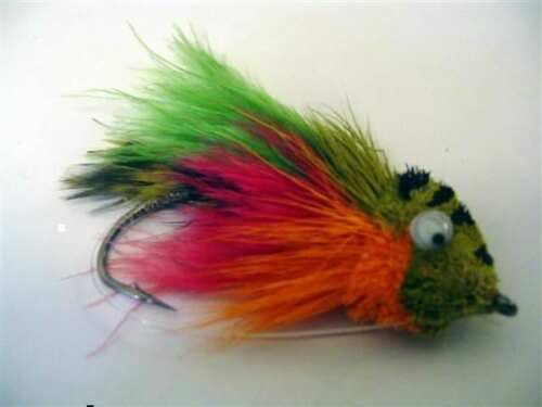 Surface Pike Fly Fly Fishing Perch