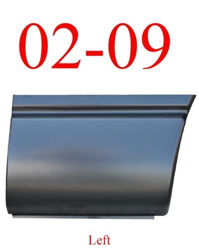 02 09 Dodge Ram Left Front Lower Bed Patch Panel 1583-141 Short Bed