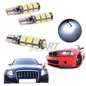 2-X-Bombillas-led-coche-T10-canbus-para-Bmw-E90-E91-no-dan-fallo
