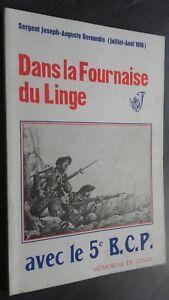 Sergente Joseph-Auguste Bernardin 1915 All'Interno Di La Stufa Del Lino 5E Bcp
