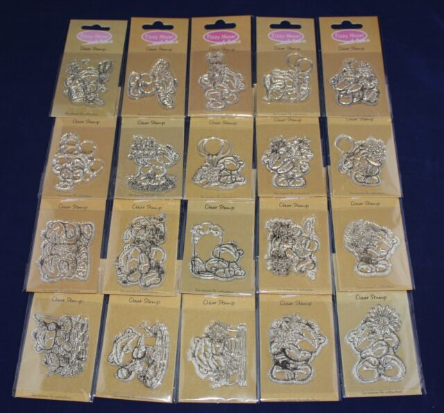 NEW Fizzy Moon Everyday Collection Mini Clear Stamp - Choice of Design