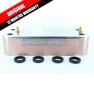 Baxi-Duotec-24HE-28HE-33HE-40HE-amp-A-Hot-Water-Heat-Exchanger-amp-O-039-Rings-7223558