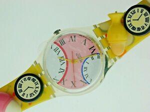 Swatch-Watch-GZ128-Eggs-Dream-watch-with-Original-Special-Case-Unworn