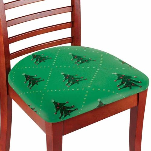 Stretchable Seat Covers Cover Protector Dining Chair Replacement Set Of 2 Tree