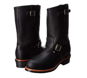 Steel Toe 27899 Engineer Boot,Black