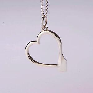 Rowing oar heart pendant crew gift from strokeside designs ebay image is loading rowing oar heart pendant crew gift from strokeside aloadofball Images