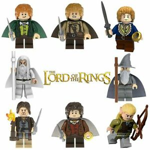 Lord Of The Rings LEGO Minifigures LOTR