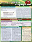 CCSS Math & Language Arts 5th Grade 9781423222866 by BarCharts Inc Poster