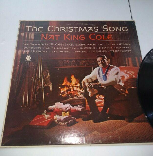 Nat King Cole The Christmas Song Vinyl LP   eBay
