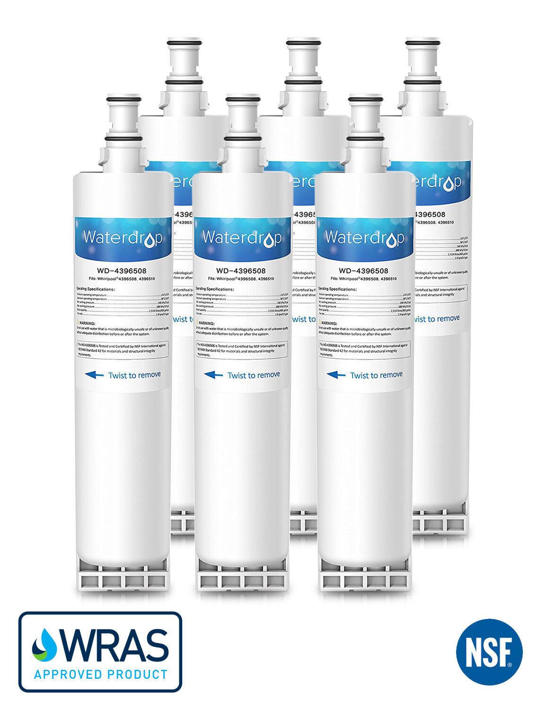 Interne Filtre à Eau Compatible avec Whirlpool Réfrigérateur 4396508 SBS002 S20BRS (6)