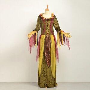 Ladies-Fairy-Dress-Princess-Medieval-Vintage-Renaissance-Fancy-Dress-Costume