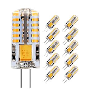 LED Crystal lamp light LED Bulb Chandelier G4 3014 SMD 2//4//6//9W DC 12V//AC 220V