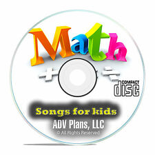 Learn Times Tables for Kids, Songs, Multiplication Addition Subtraction CD E83