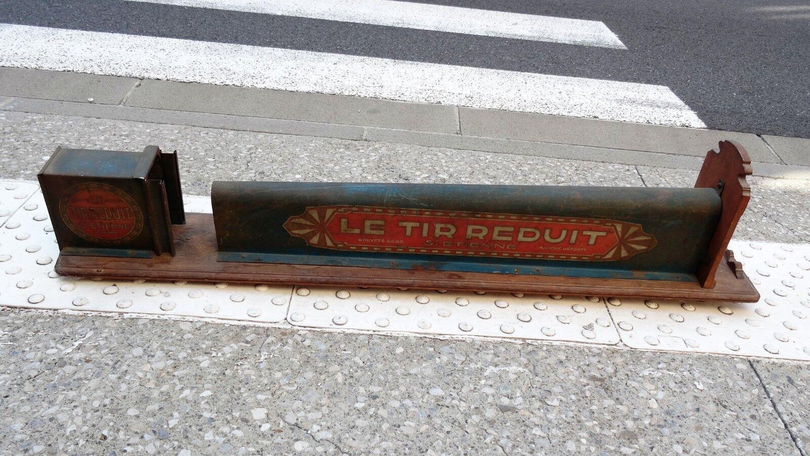 Le tir réduit Saint Etienne - - - Rare jeu stand de tir forain ancien 0f3b78