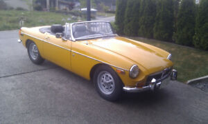 Restored 1972 MGB for Sale
