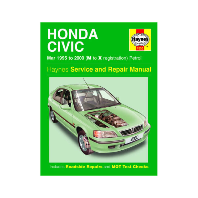 haynes workshop repair manual honda civic 95 00 ebay rh ebay co uk Honda Civic Coupe Honda Civic Parts