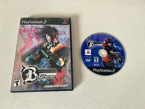 The Bouncer PS2 (Sony PlayStation 2, 2001) No Manual! Tested Working!