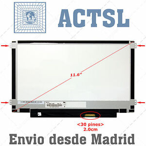 "Acer Travelmate B115 Series Lcd Display Pantalla Portatil 11.6"" 1366x768 Led Tfz X6bj5wg8-08003057-635344696"
