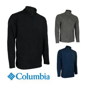 Columbia-Men-039-s-6426-Crescent-Valley-Quarter-Zip-Fleece-Pullover-Jacket