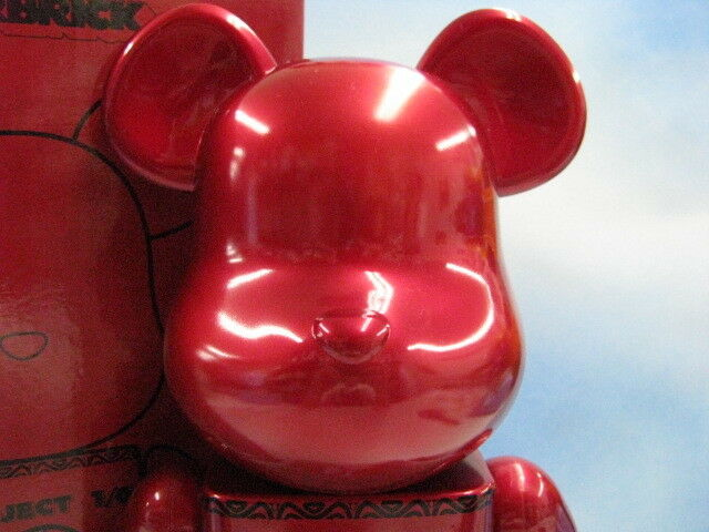 Be@rbrick rot MEDICOM 400% Project 1 6 From Japan Free Shipping