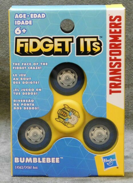 New and sealed Fidget spinners TRANSFORMERS SET OF 3 FIDGET ITS SPINNER