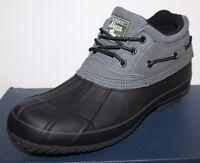 Gh Bass Men's 8 12 Leather Waterproof Winter Short Duck Boots - Fleece Lined