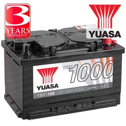 Yuasa Car Battery Calcium Open Vent 540CCA 65Ah T1 Terminal For Audi A4 B5 1.9