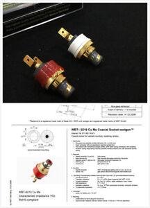 4 pcs WBT-0152Cu Nextgen RCA connector plug