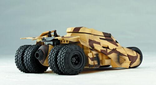 New Sealed Batmobile Camouflage Tumbler Vehicle Kaiyodo Sci-Fi Revoltech #047
