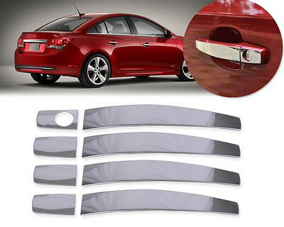 Stainless Steel Door Handle Cover Trim Fit Chevrolet Cruze Malibu Captiva