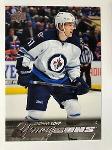 2015-16 UD Young Guns Rookie Andrew Copp